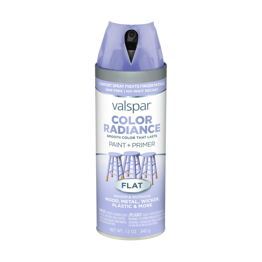 Valspar Color Radiance Lavendar Lake Fade Resistant Enamel Spray Paint (Actual Net Contents: 12-oz)