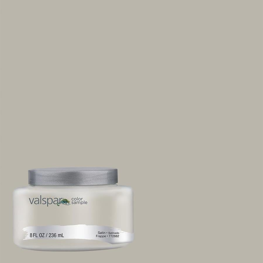 Shop Valspar Frappe Interior Paint Sample Actual Net