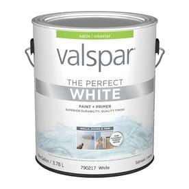 Valspar Pro Contractor Coat Satin White Oil-based Enamel Paint