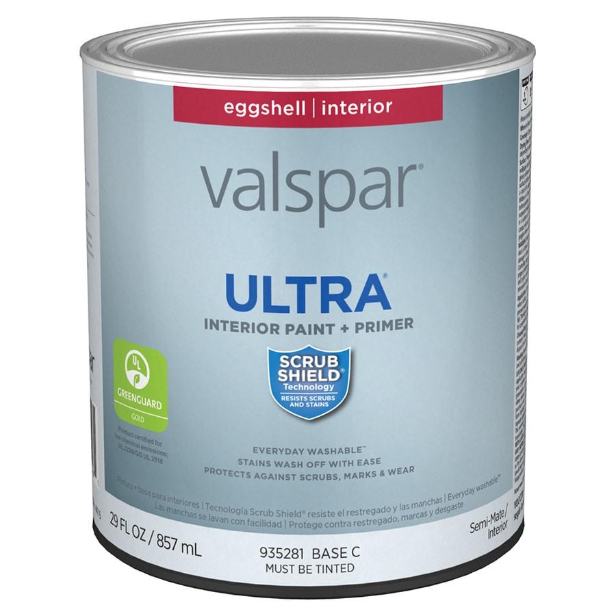 Valspar ultra eggshell base c latex paint actual net - Eggshell or semi gloss ...