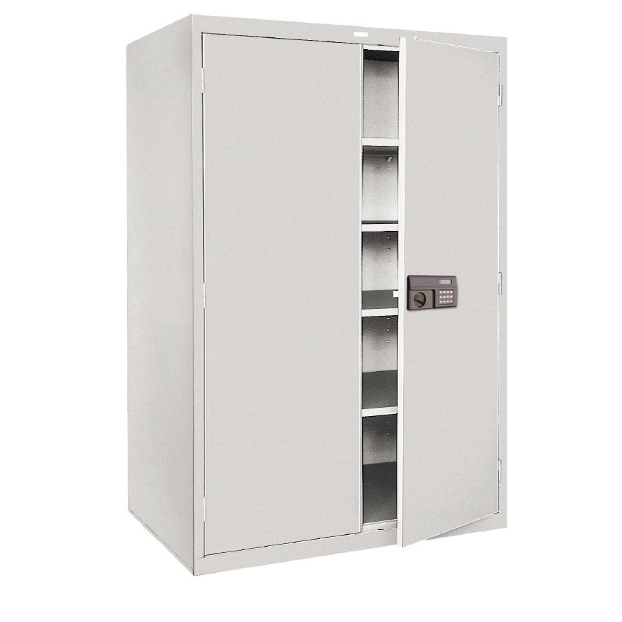Metal Storage Cabinets ~ Shop edsal in w h d steel freestanding