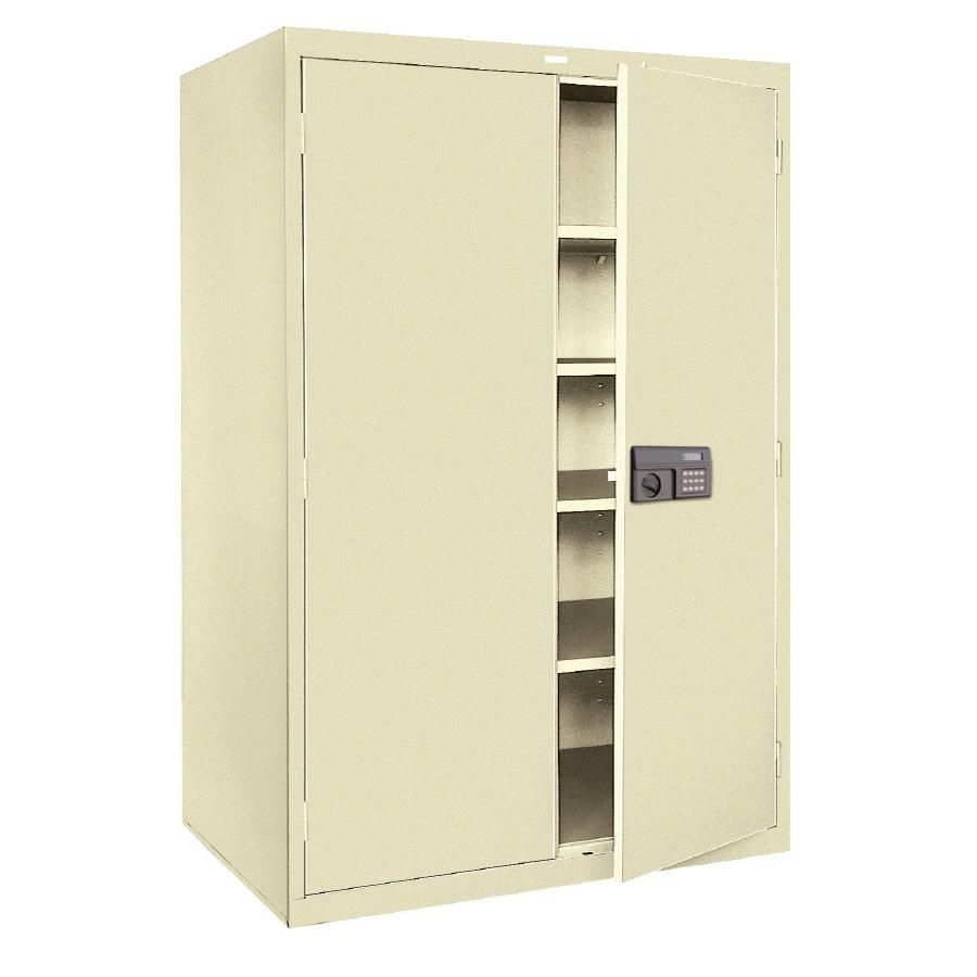 edsal 48-in W x 78-in H x 24-in D Steel Freestanding Garage Cabinet