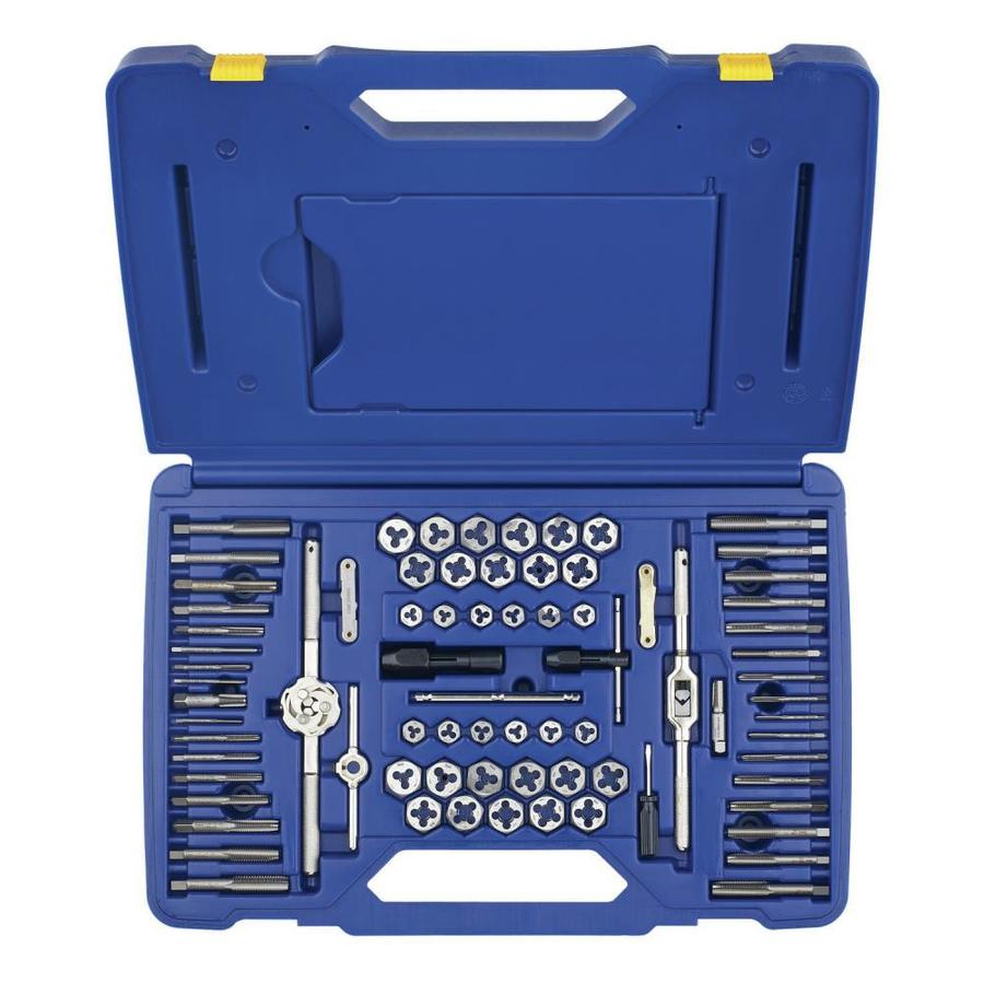 IRWIN 76-Piece Metric and Standard (SAE) Tap and Die Set