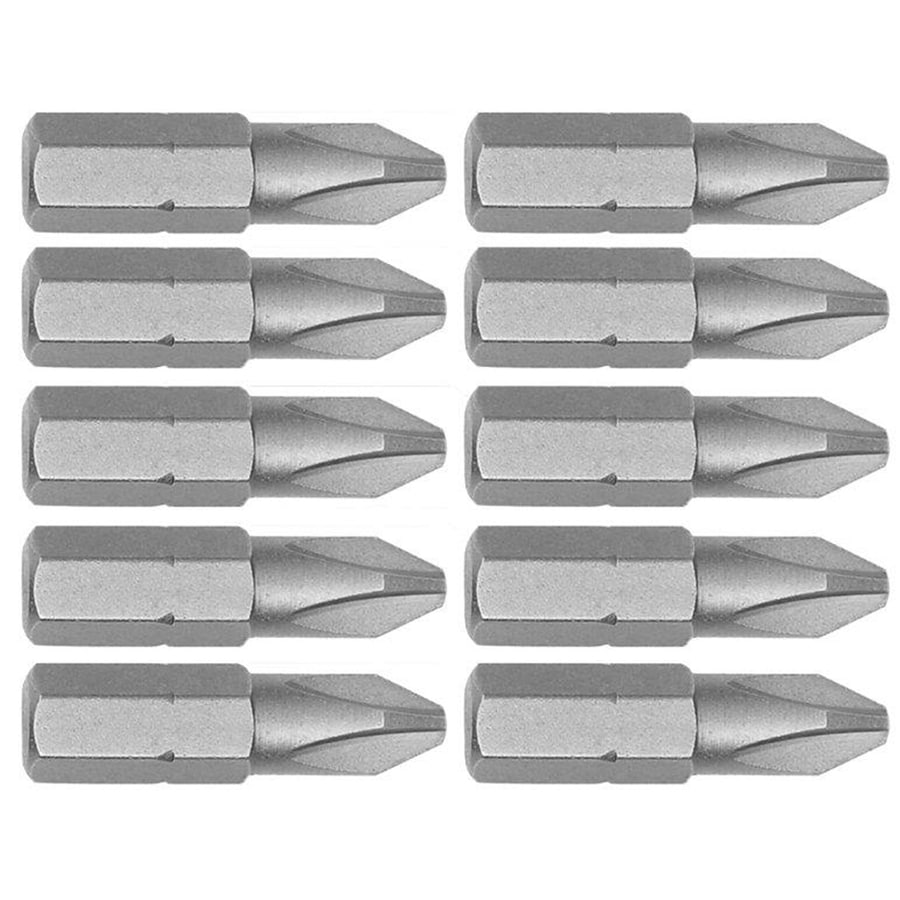 IRWIN 10-Pack 1-in Phillips Screwdriver Bits