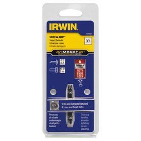 IRWIN Impact Screw-Grip De-1 Double-Ended Screw Extractor
