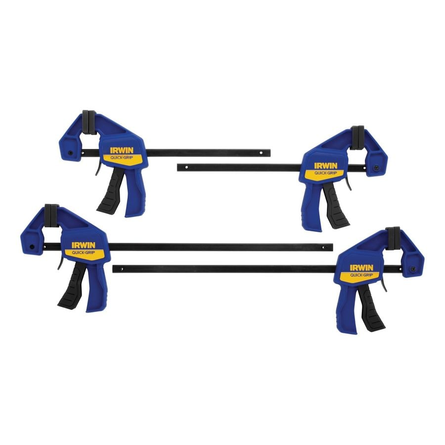 Shop IRWIN QUICK-GRIP 4-Pack 6-in Clamps at Lowes.com