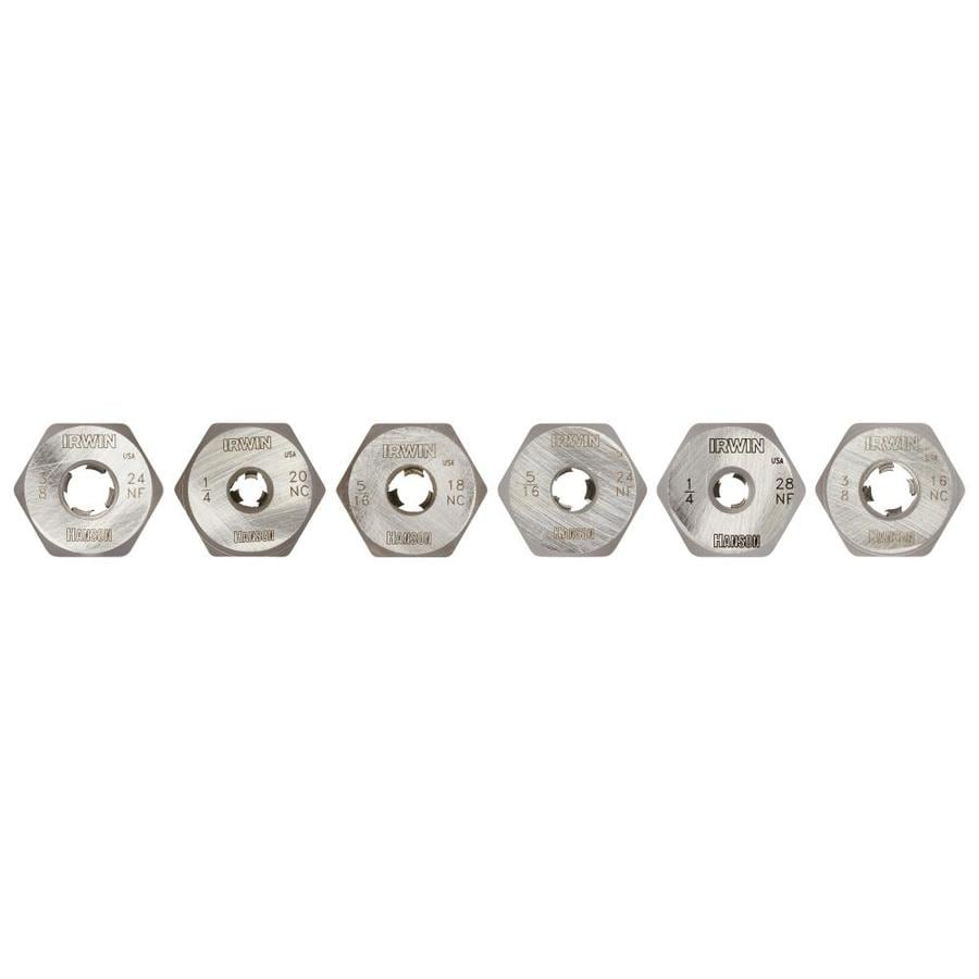 IRWIN 6-Piece SAE Tap and Die Set