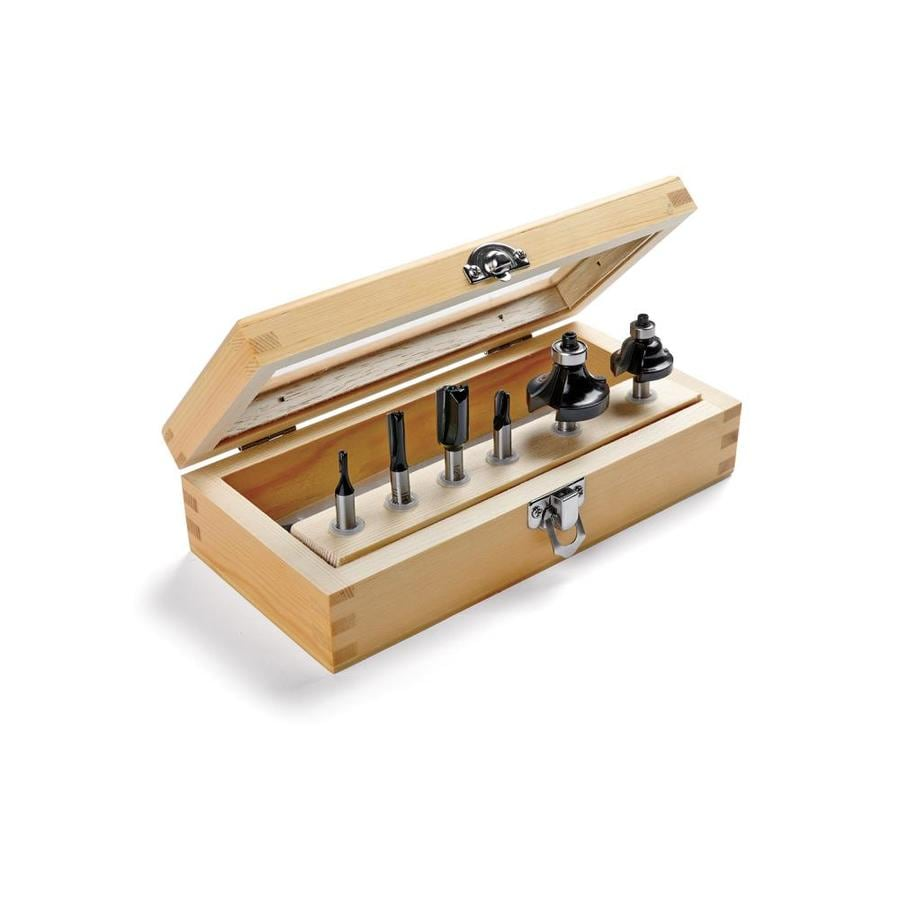 IRWIN 6-Piece Basic Router Bit Set
