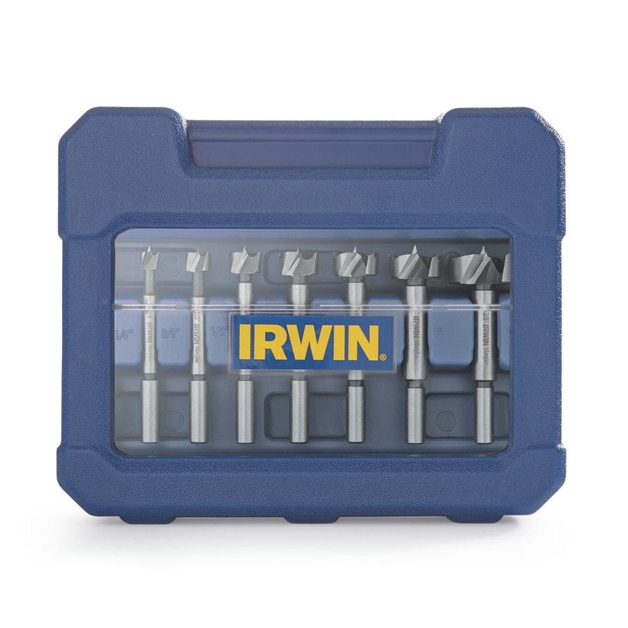 IRWIN Marples 8-Piece Forstner Bit Set