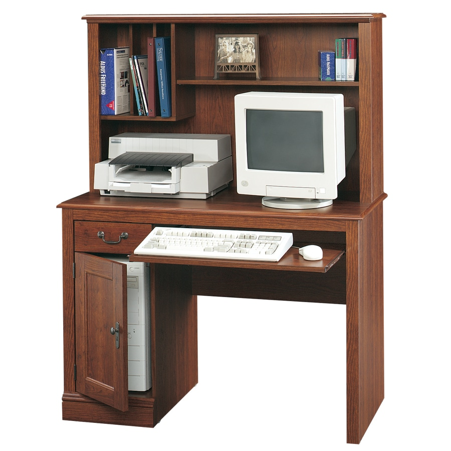 Sauder Camden County Traditional Planked Cherry Computer Desk