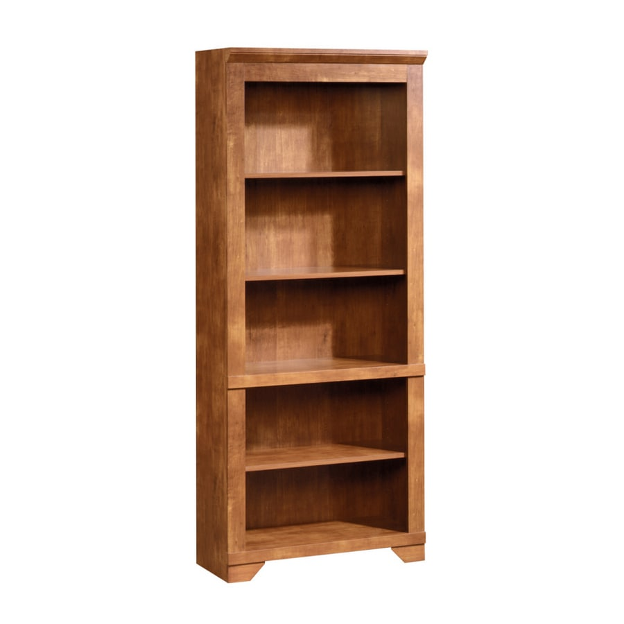 Sauder 71 1 2H Brushed Maple Bookcase