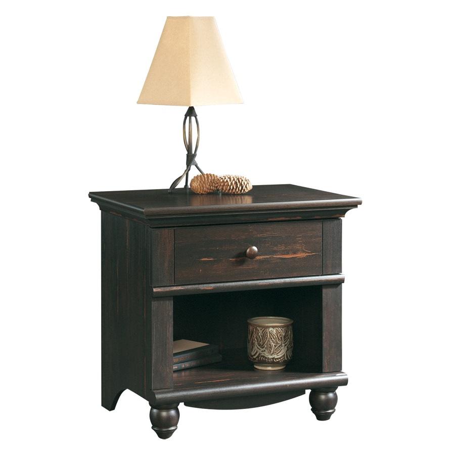 Sauder Harbor View Antiqued Paint Nightstand