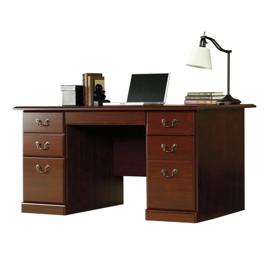 Sauder Desk Edge Water Estate Black Desk Sauder