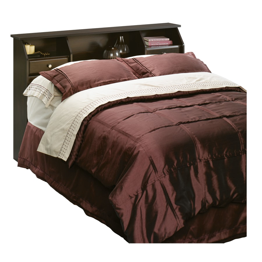 Sauder Shoal Creek Jamocha Wood Full Queen Headboard