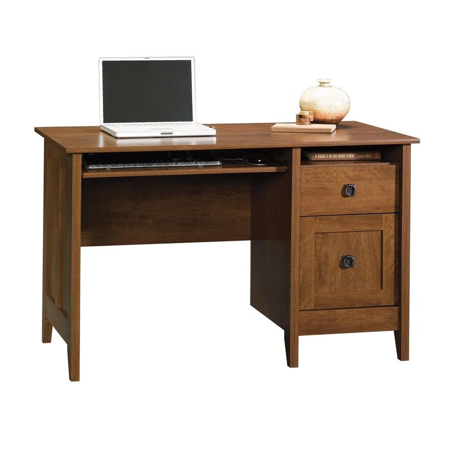 Sauder August Hill Oiled Oak Computer Desk