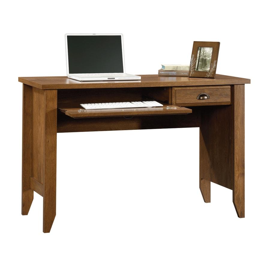 Sauder Shoal Creek Oiled Oak Computer Desk