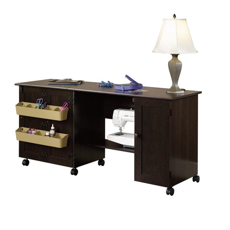 Sauder Cinnamon Cherry 4-Shelf Office Cabinet