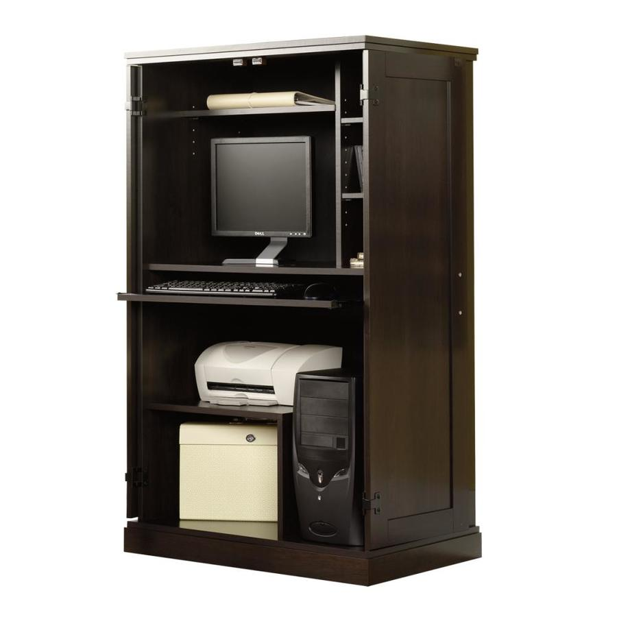 Sauder Cinnamon Cherry Computer Desk