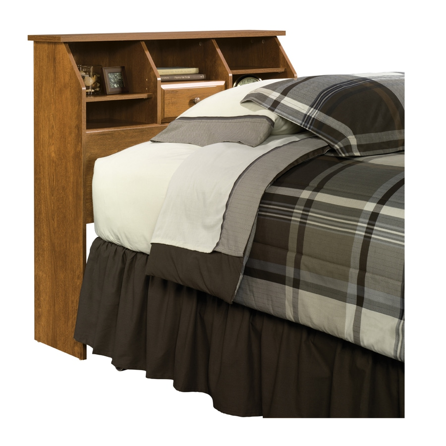 Sauder Shoal Creek Oiled Oak Twin Headboard