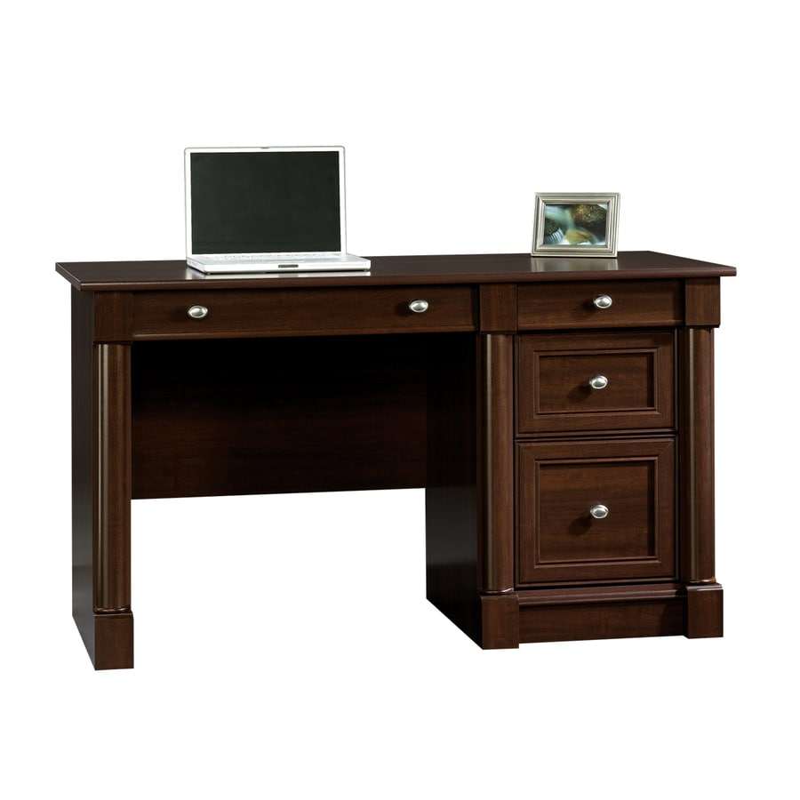 Shop Sauder Palladia Traditional Computer Desk At Lowes Com