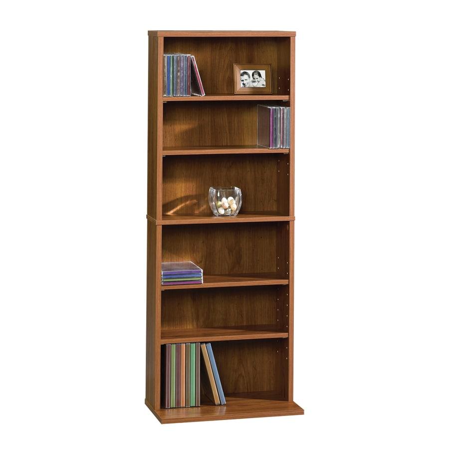 Sauder Beginnings Pecan 6 Shelf Storage Cabinet