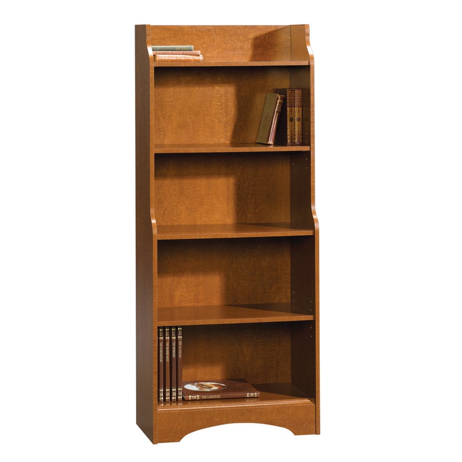 Sauder Graham Hill Autumn Maple 59-in 5-Shelf Bookcase