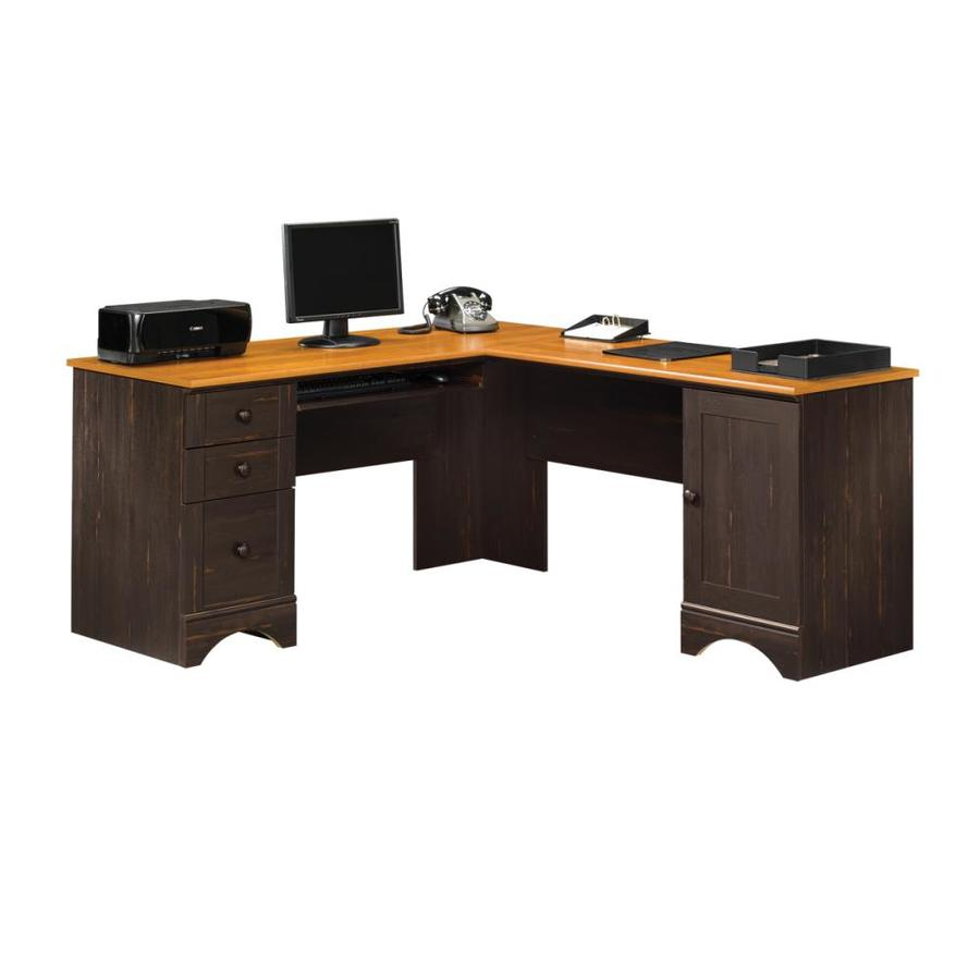 Oak Trendy White Desk Concepts Display product reviews for Harbor View Casual L-Shaped Desk