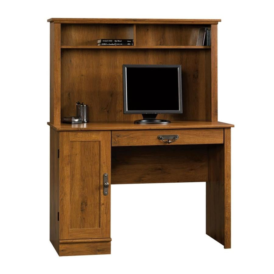 Sauder Harvest Mill Abbey Oak Computer Desk