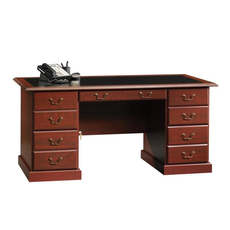 Shop Sauder Heritage Hill Traditional Executive Desk At