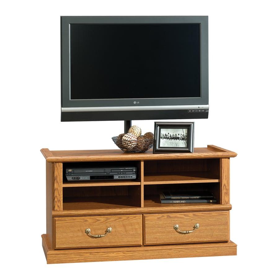 Sauder Orchard Hills Carolina Oak Television Stand At Lowes Com