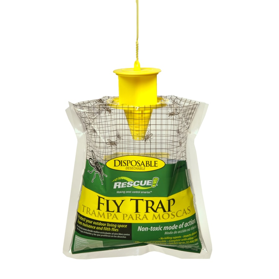 RESCUE! 0.15-lb Disposable Fly Trap