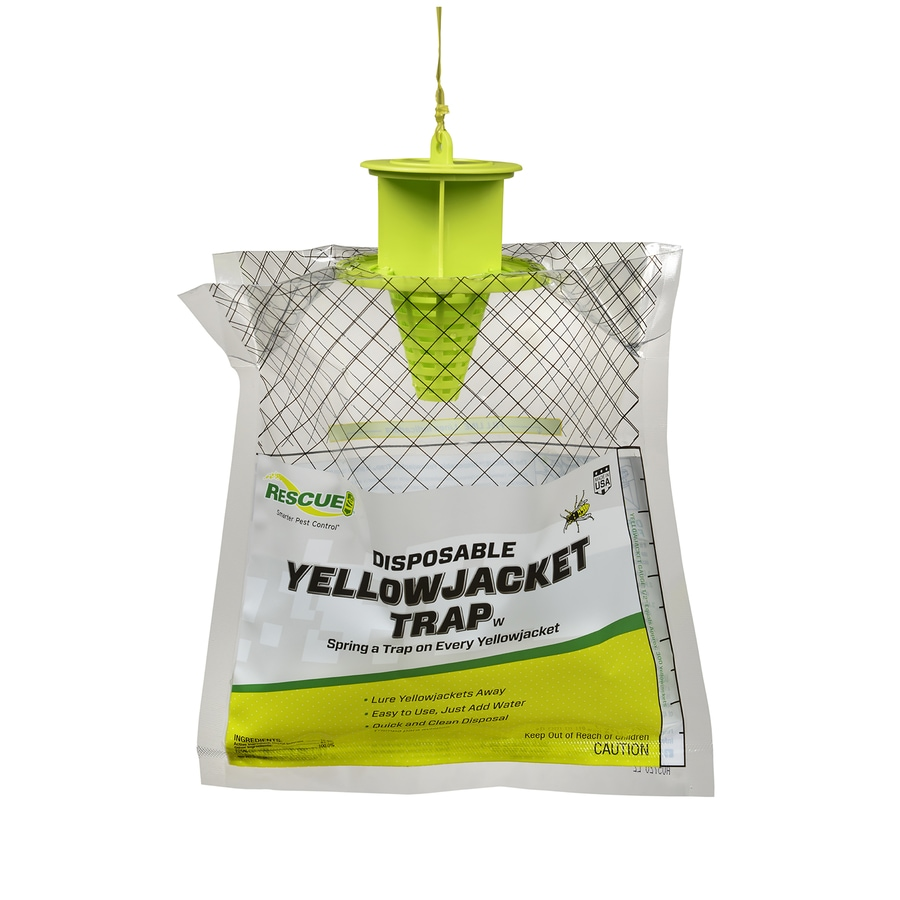 RESCUE! 0.13-lb Disposable Yellow Jacket Trap