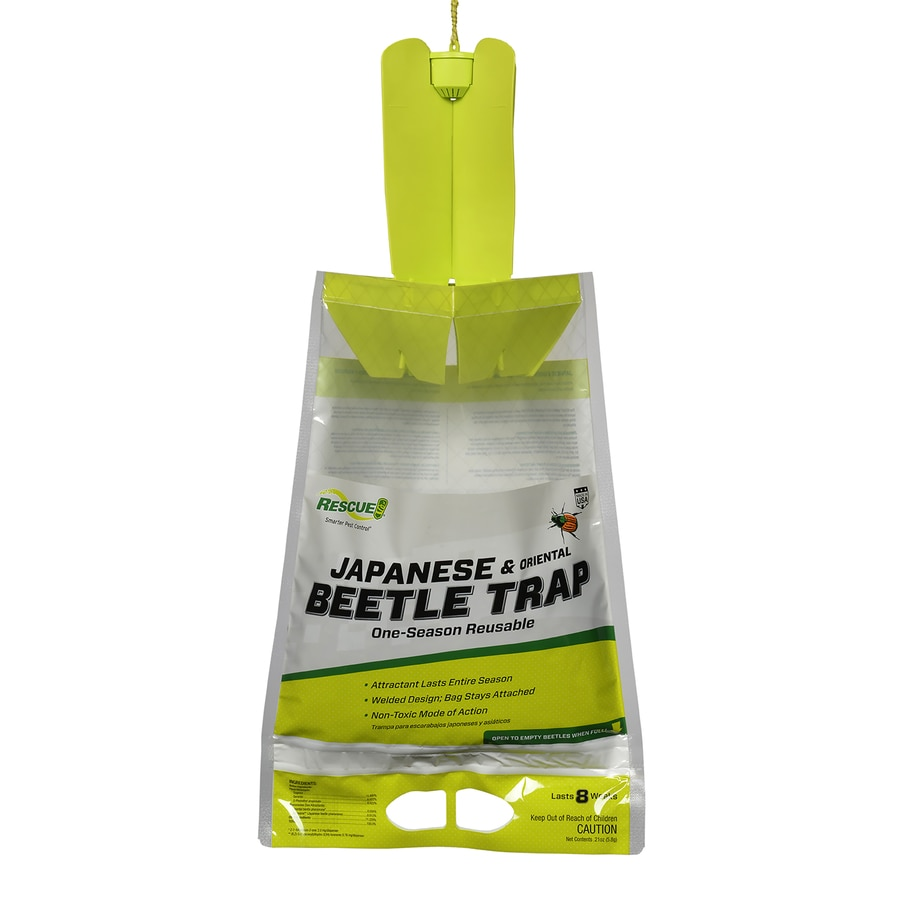RESCUE! Rescue! Japanese Beetle Trap 0.25-lb Trap Disposable Trap