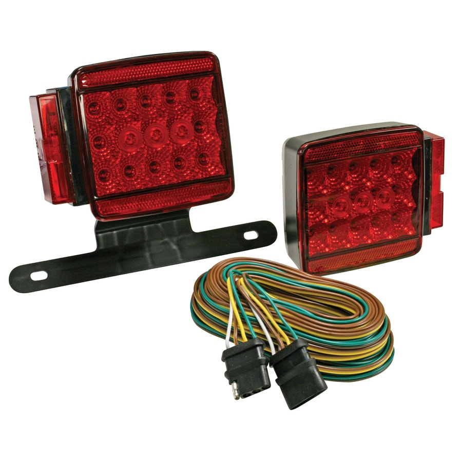 Shop Trailer Parts Accessories At Connector Sockets W Mounting Bracket And Wiring Vehicle End Reese Led All Purpose Over Or Under 80 In Tail Light Kit