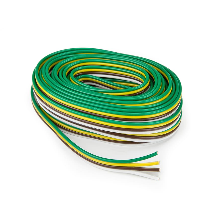 Marvelous Reese 25 Ft Bonded Trailer Wire At Lowes Com Wiring Digital Resources Bemuashebarightsorg