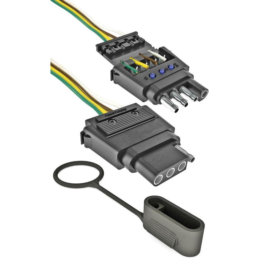 042899853534 shop reese towpower towpower professional series 4 wire led lowes trailer wiring harness at bayanpartner.co