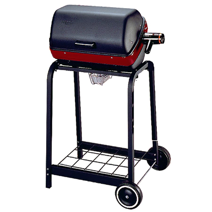 Lowe S Electric Grills Outdoor ~ Shop easy street watt satin black electric grill at