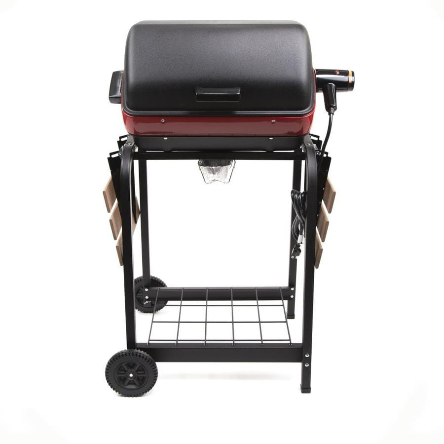 Easy Street 1,500-Watt Satin Black Electric Grill