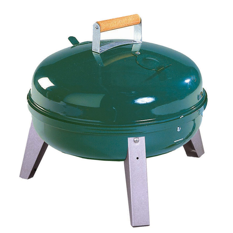 Americana 16.75-in Green Charcoal Grill