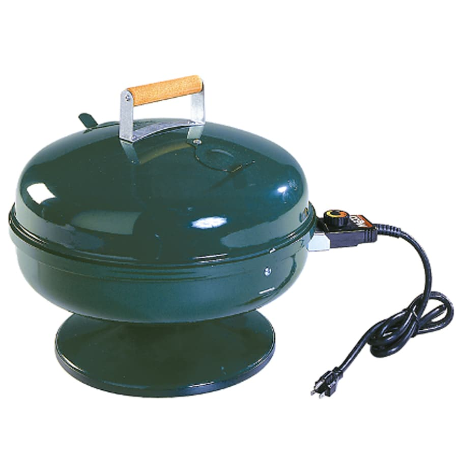 Easy Street 1,500-Watt Hunter Green Electric Grill