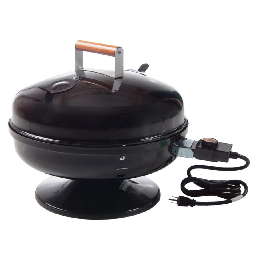 Easy Street 1,500-Watt Black Electric Grill