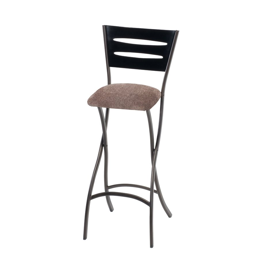 Style Selections 1 Cinnabar 29-in Bar Stool (27-In to 35-In)