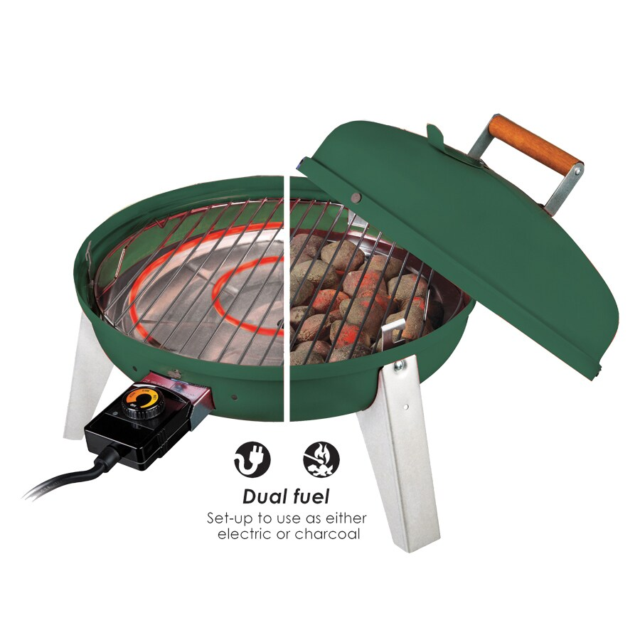 Americana 1500-Watt Green Electric Grill