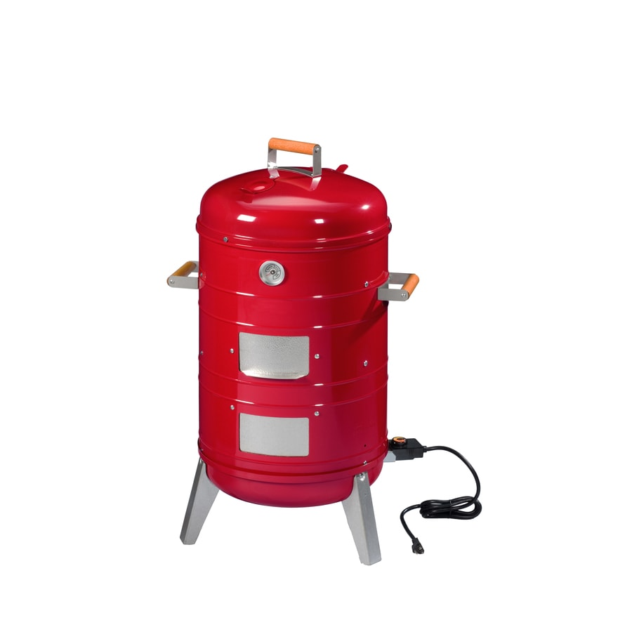 Southern Country 1500-Watt Red Electric Vertical Smoker (Common: 36-in; Actual: 36-in)