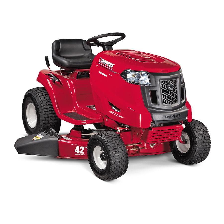 Troy Bilt 17 5 Hp Pony 42 Quot Cut Lawn Tractor At Lowes Com