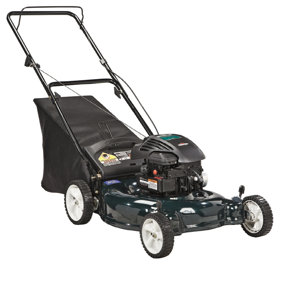Bolens 158-cc 21-in 2 in 1 Gas Push Lawn Mower with Briggs