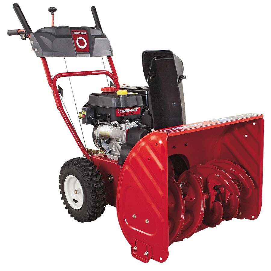 Troy-Bilt 179-cc 24-in Two-Stage Electric Start Gas Snow Blower