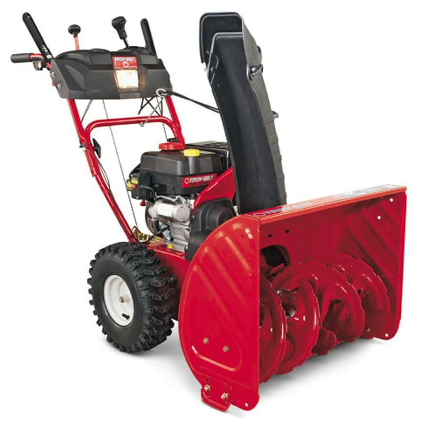 Troy-Bilt 208-cc 26-in Two-Stage Electric Start Gas Snow Blower with Headlight