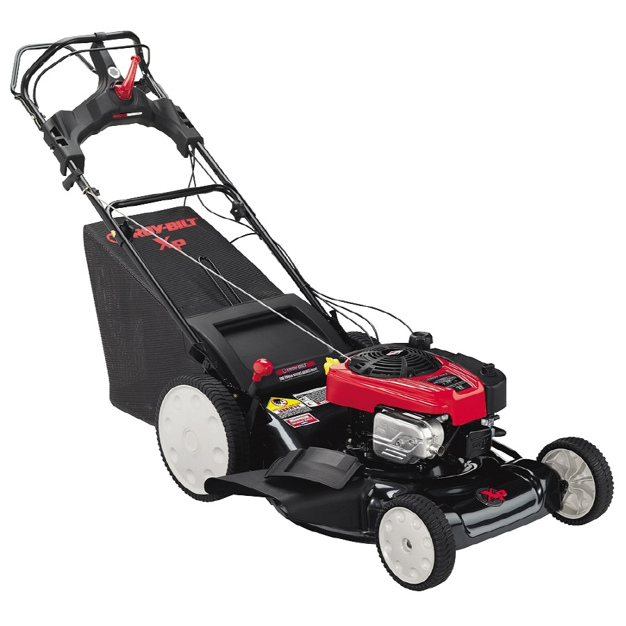Troy-Bilt 175-cc 21-in Self-Propelled Rear Wheel Drive 3-in-1 Gas Lawn Mower with Mulching Capability