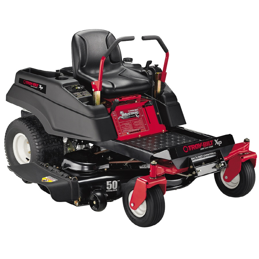 Troy-Bilt 25-HP V-Twin Dual Hydrostatic 50-in Zero-Turn Lawn Mower